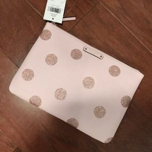 Kate spade haven lane Gia pink polka dot bag